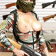 Jojo Kiss has gun shop threesome in Deep Squad - image