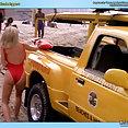 Nicole Eggert nude & wet - image