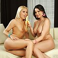 Girl on Girl with Brandy Smile & Zafira - image