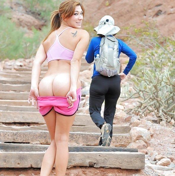 FTV Girls: Hannah Reilly nude hiker
