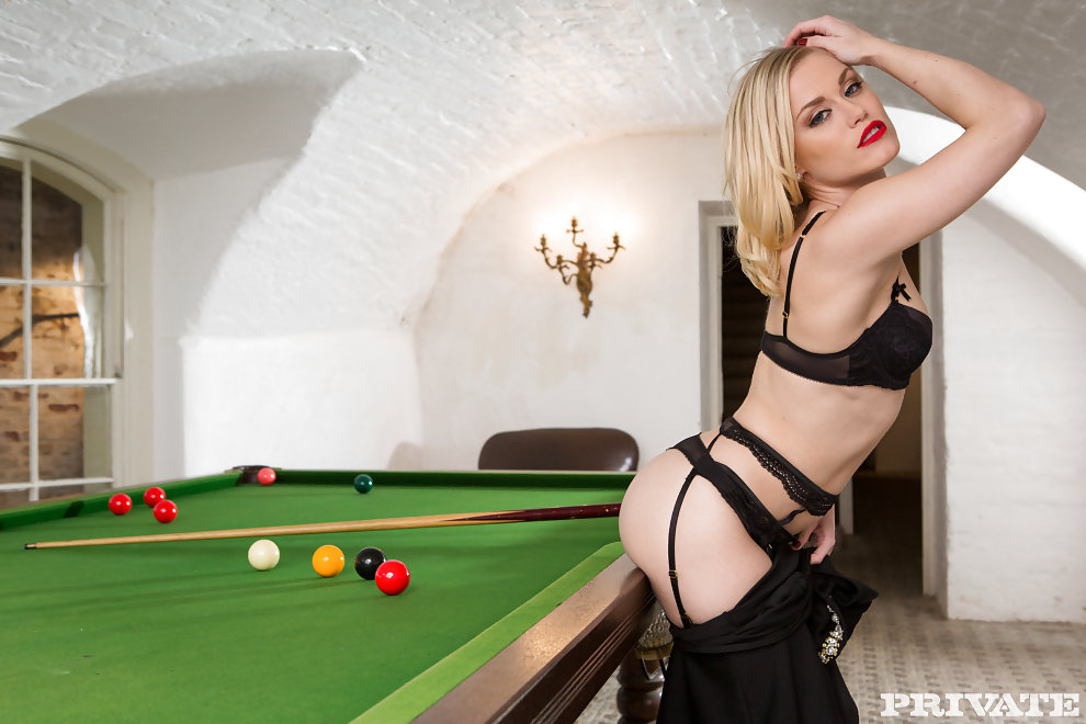 wife pooltable 3some