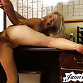 Ella Nova rough anal sex with James Deen - image