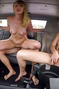 Bad Tow Truck: Iggy Amore & Molly Manson threesome