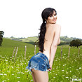 Playboy: Skylar Leigh in field - image