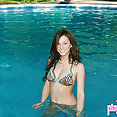 Kate's Playground: Kate in pool - image