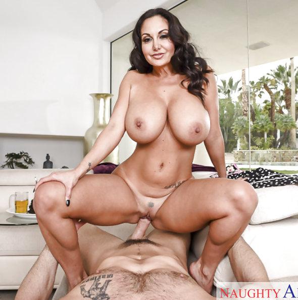 Naughty America: Ava Addams titty fucking