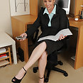 All Over 30: Tamara Fox nude at office - image