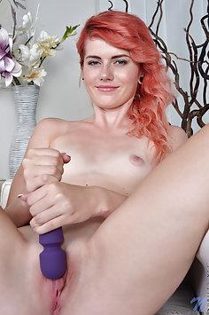 Nubiles: Anna Swix using vibrator