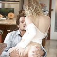 Babes: Lanna Carter kitchen sex - image