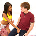 My Sister's Hot Friend: Nia Nacci interracial - image