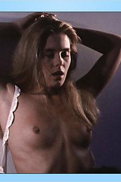Nicole Eggert nude & wet